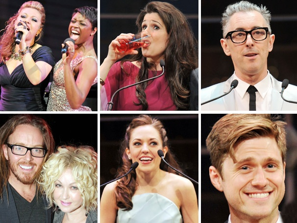 Drinking Games! Heartfelt Speeches! 10 Memorable Moments at the 2013 Broadway.com Audience Choice Awards