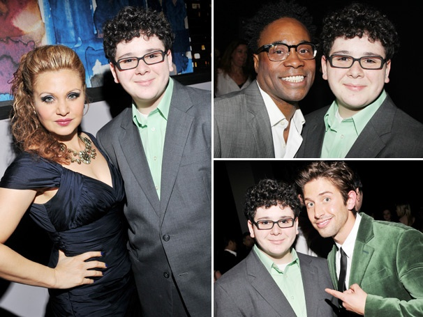 Broadway's Biggest Fan Ben Rodenmeyer Celebrates an 'Extraordinary' Night at the Audience Choice Awards