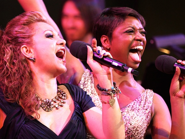 Watch Orfeh & Montego Glover Bring Down the House with 'Broadway Fan' at the Audience Choice Awards