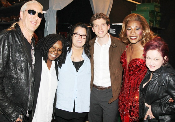 Rosie ODonnell, Whoopi Goldberg, Dee Snider & More Get Down at Broadways Kinky Boots 