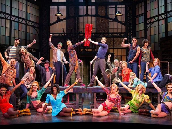 Broadway Grosses: Tony-Winning Musical Kinky Boots Plays to Full Houses