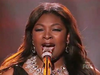 Watch Idol Hopeful Candice Glover Put a Soulful Spin on West Side Story's Somewhere 