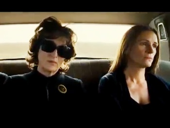 Watch the First Trailer for the Film Version of August: Osage County, Starring Meryl Streep & Julia Roberts