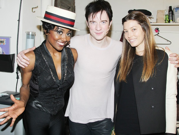 Jessica Biel, Patricia Clarkson & More Celebs Pay a Visit to the Extraordinary Stars of Pippin