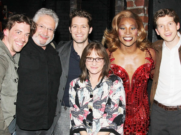 Patti LuPone, Matthew Morrison, Christian Borle and Lily Tomlin Get Their Kink on Backstage at Kinky Boots