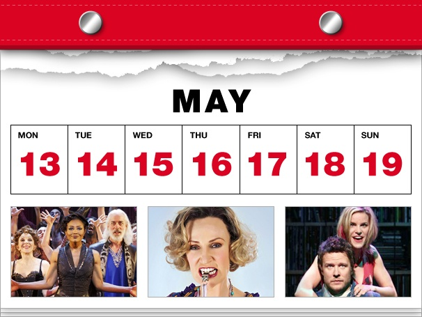 Pippin Troupers Stay Up Late, Jane Lynch Joins Annie & a High Fidelity Concert in This Week's Datebook
