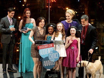 BACA 2013 Highlight: Annie's Little Girls Take Center Stage as the Show Wins Favorite Musical Revival