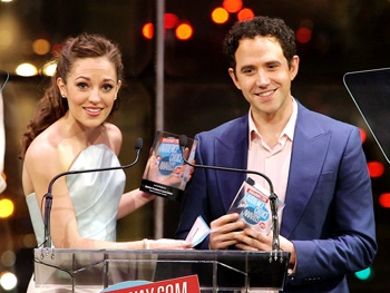 BACA 2013 Highlight: Cinderella Winners Laura Osnes and Santino Fontana Shout Out to Their Video Blog Fans 