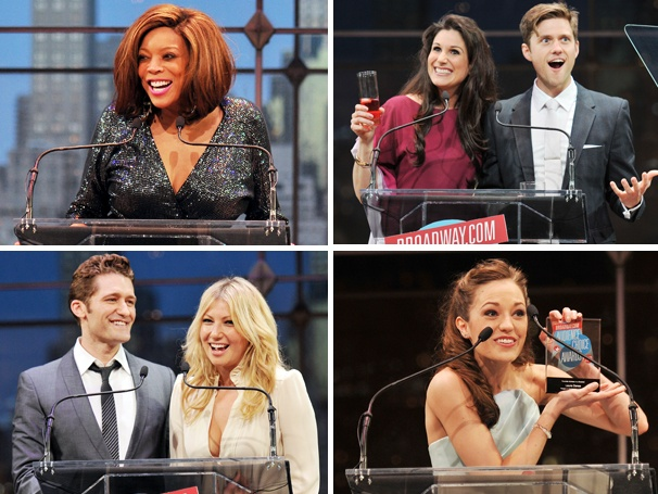 Front Row Seat! Watch the Complete Ceremony of the 2013 Broadway.com Audience Choice Awards