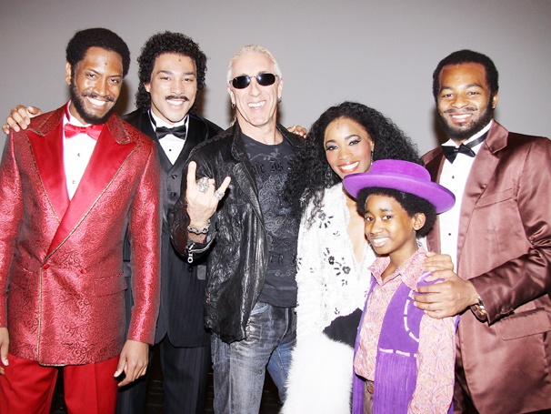 Dee Snider Rocks Out Backstage with the Stars of Motown The Musical