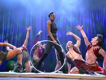 Patina Miller & the High-Flying Cast of Pippin Bring Simple Joys to The Late Show
