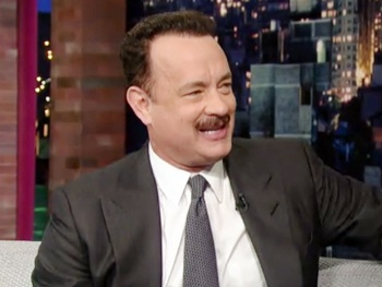 Tom Hanks Calls Out Pippin and Kinky Boots on The Late Show with David Letterman