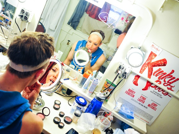 Commence Dragulation! Exclusive Photos of the Kinky Boots Angels' Backstage Transformation