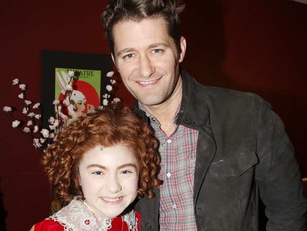 Enjoy Annie Backstage Fun with Matthew Morrison & an Audience of NYC Kids