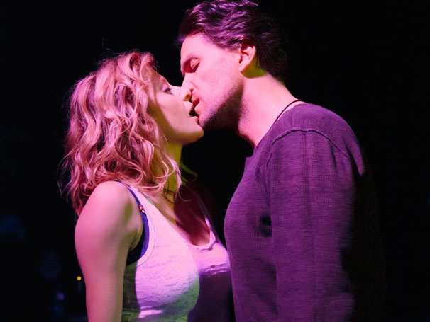 Get a Gritty First Look at Off-Broadway Rock Musical Murder Ballad, Starring Caissie Levy & Will Swenson