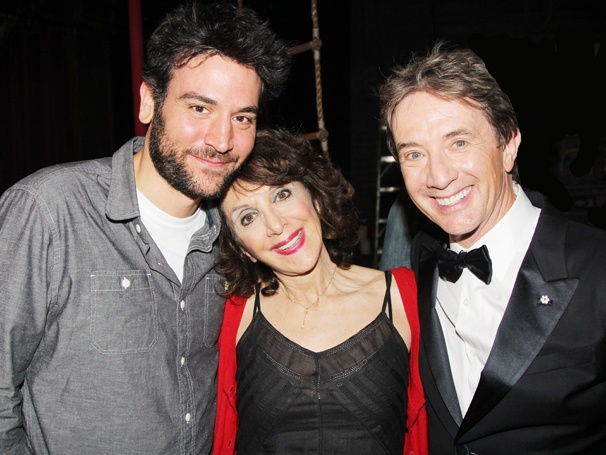 How I Met Your Mother Stars Josh Radnor, Martin Short & More Celebs Join the Circus Backstage at Pippin