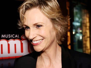 See Annie's Jane Lynch Talk About Being 'Elated and Exhilarated' at Her Starry Broadway Bash