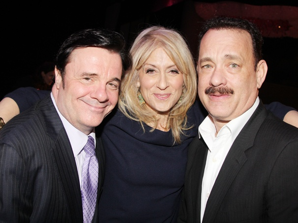 Nathan Lane, Judith Light, Tom Hanks & More Share Laughs and Lunch at the 2013 Drama League Awards
