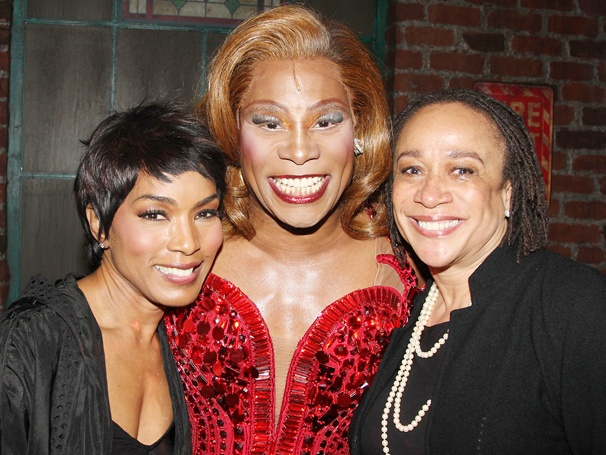 Angela Bassett, S. Epatha Merkerson & Quincy Jones Take in the Music and Magic of Kinky Boots 