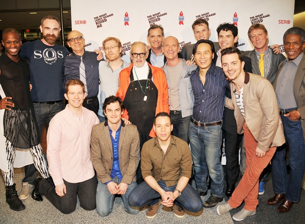 David Drake, Rory O'Malley, Wesley Taylor & More Celebrate Benefit Reading of The Night Larry Kramer Kissed Me