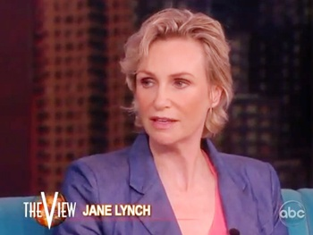 Annie's Jane Lynch Talks Stripping on Stage and Texting with Carol Burnett
