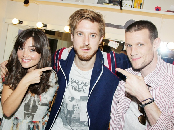 Doctor Who Reunion! Matt Smith and Jenna Louise-Coleman Visit Arthur Darvill's New Digs at Once