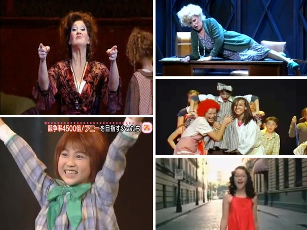 The Sun'll Come Out Mañana! Five Wacky Annie Videos From Across the Globe