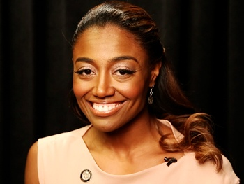 Which Fellow Tony Nominee is Pippin Star Patina Miller's Mentor?