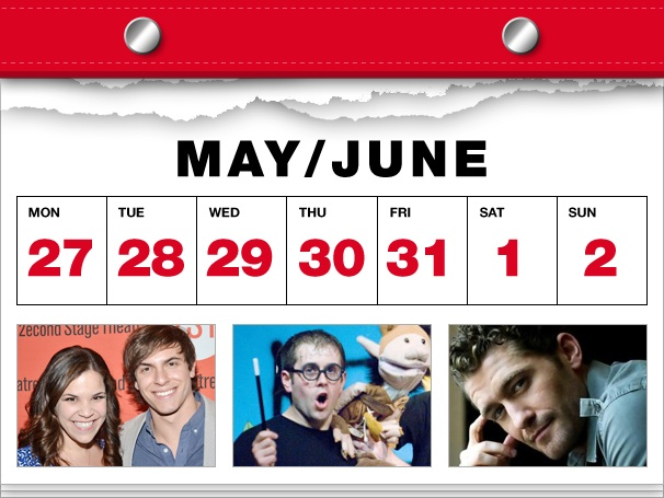 Lindsay Mendez Goes Green, Potted Potter Waves Its Wand & Matthew Morrison Gets Personal in This Week's Datebook