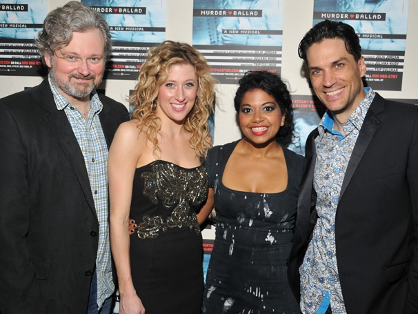 The Stars of Off-Broadway's Rocking New Musical Murder Ballad Are Dressed to Kill on Opening Night