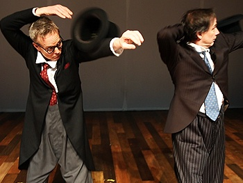 Exclusive Video! Tricks, Spirit Animals & Silliness with Old Hats Clowns Bill Irwin & David Shiner