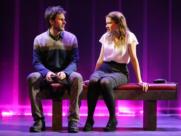 Take a First Look at Jenna Fischer, Josh Hamilton, Leslie Bibb & Fred Weller in Neil LaBute's Reasons To Be Happy