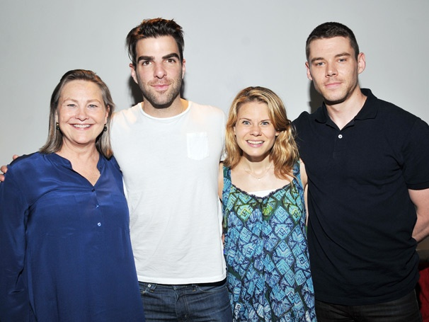 The Fabulous Foursome of Broadway's The Glass Menagerie Visits Broadway.com