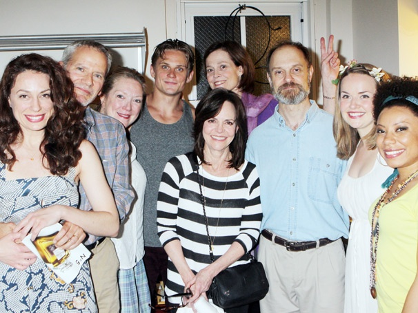 Vanya and Sonia Stars Get an Amazing Visit from Spider-Man Movie Stars Sally Field and Campbell Scott