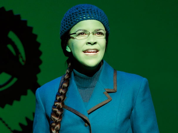 First Look! See Stage Fave Lindsay Mendez Go Green as Elphaba in Wicked