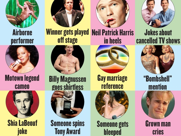 Tony Awards Bingo! Play Along at Home with the Ultimate Tony Party Game