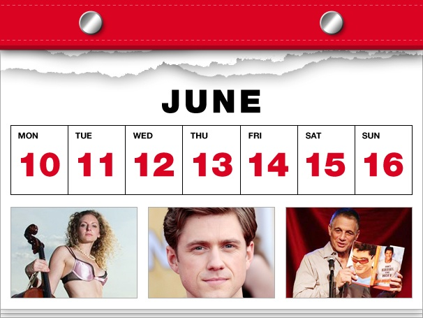 B'way Stars Strip Down, Jenna Fischer Gets Happy & Jennifer Damiano Heads to Venice in This Week's Datebook