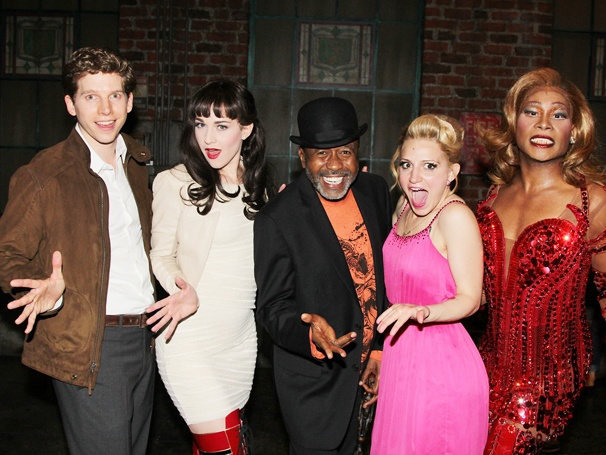 Ben Vereen, Zachary Levi and Krysta Rodriguez Have Some Fabulous Fun Backstage at Kinky Boots