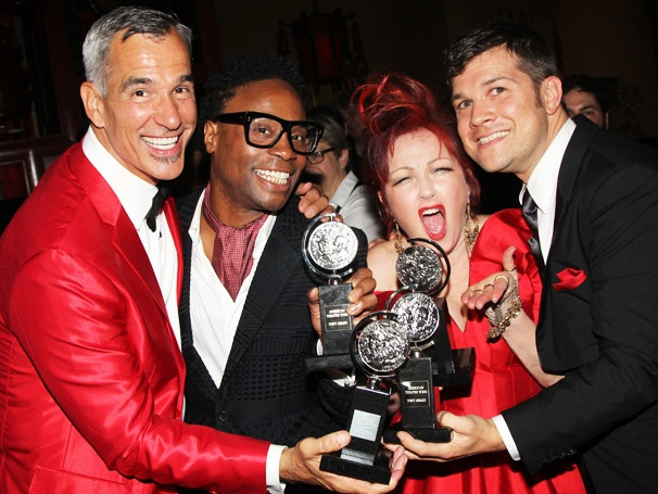 Kinky Boots  Winners Toast Their Tony Triumphs