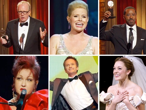 Tracy Letts Is a Teddy Bear, Megan Hilty Ain't Too Proud to Beg & More Lessons of the Tony Awards!