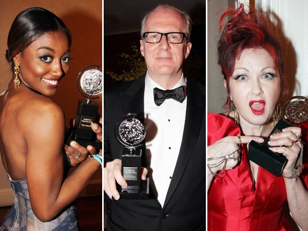 Cyndi Lauper, Patina Miller, Tracy Letts & More Take Their Place in the Tony History Book
