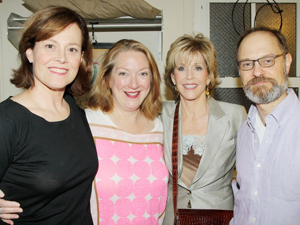 Jane Fonda Goes Backstage at the Tony-Winning Comedy Vanya and Sonia and Masha and Spike