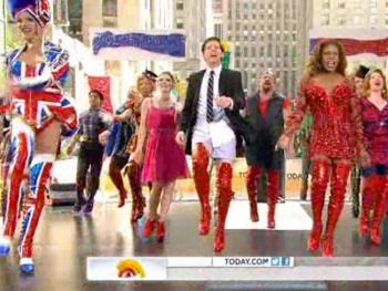 Watch Billy Porter, Stark Sands & the Cast of Kinky Boots Kick Up Their Heels on Today