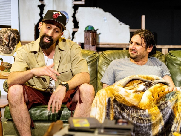 See Sparks Fly in a No-Holds-Barred First Look at the Off-Broadway Dark Comedy Rantoul and Die