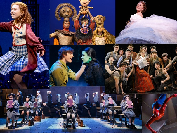 Adult broadway shows