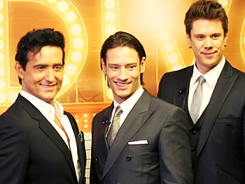 See the studs of il divo talk up their new broadway extravaganza a musical affair broadway - Il divo cast ...