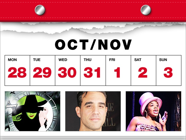 Wicked Turns 10, Bobby Cannavale Plays Charades & After Midnight Swings in This Week's Datebook