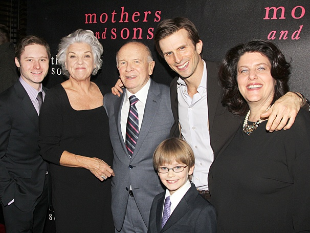 Tyne Daly and family