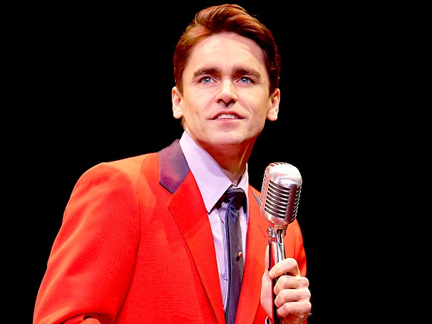 Ryan Molloy as Frankie Valli in 'Jersey Boys'