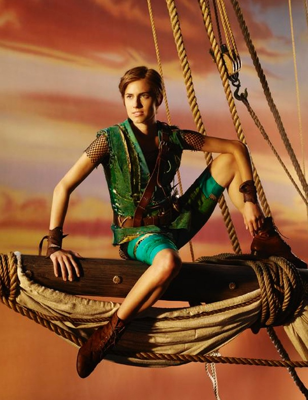 Goodbye Girls! Check Out Allison Williams' Transformation Into Peter Pan
